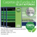 Carpeta de fundas A-4 Recycled