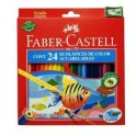 Lapices Acuarelables Faber-Castell largos